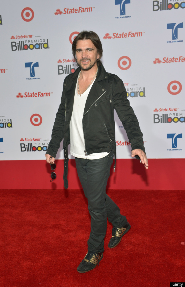 """<strong>WILD</strong>:  He's one of the biggest rock stars on the planet, but the Colombian """"Me Enamora"""" singer isn't makin"""