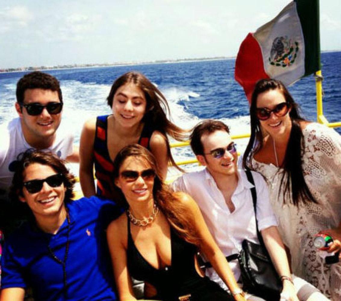 Sofía Vergara decidió festejar sus 40 años con un viaje único en México con sus seres queridos.