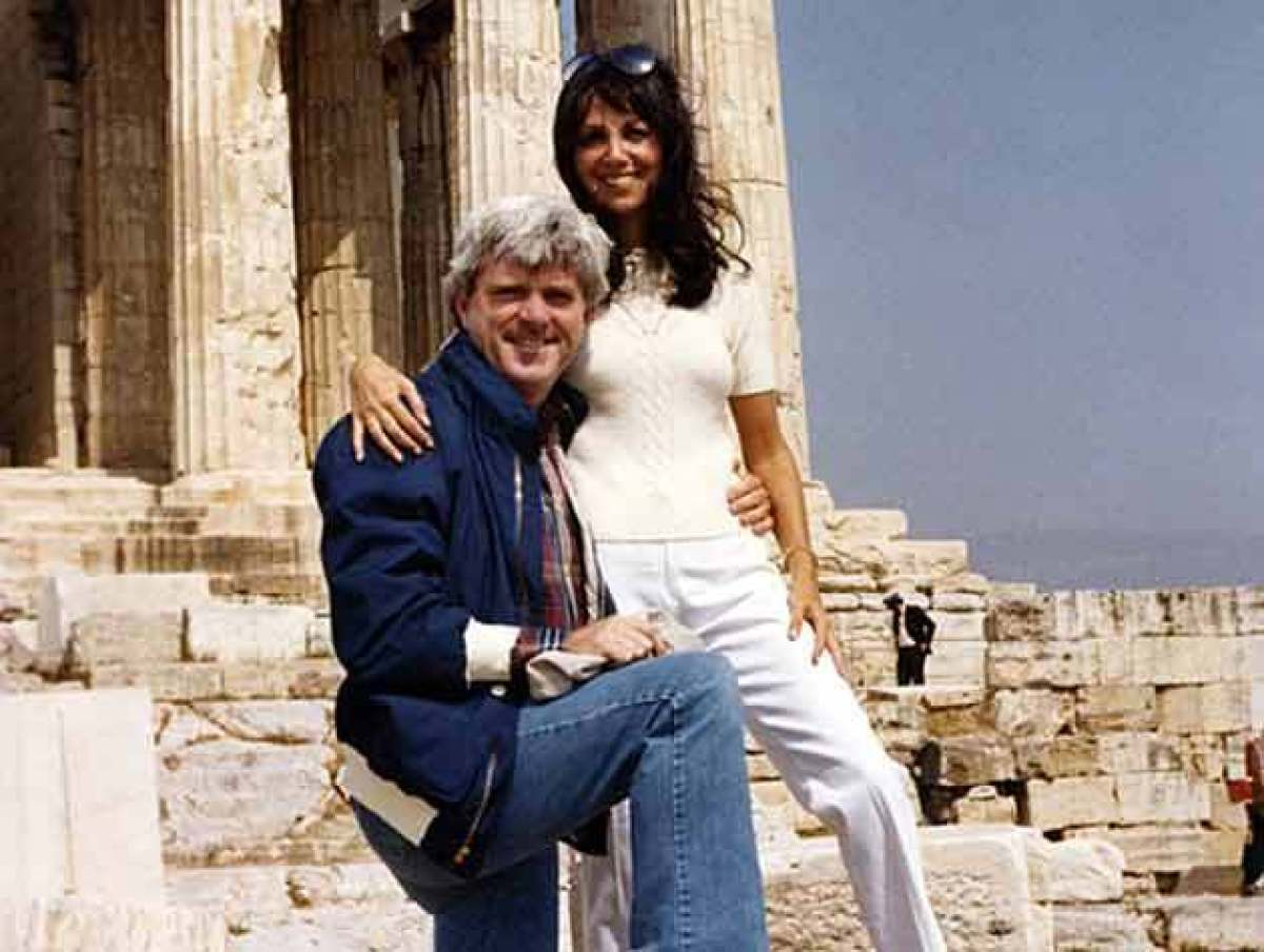 Here we are on our honeymoon at the legendary Acropolis in Athens. We'd chosen Greece because neither of us had ever been the