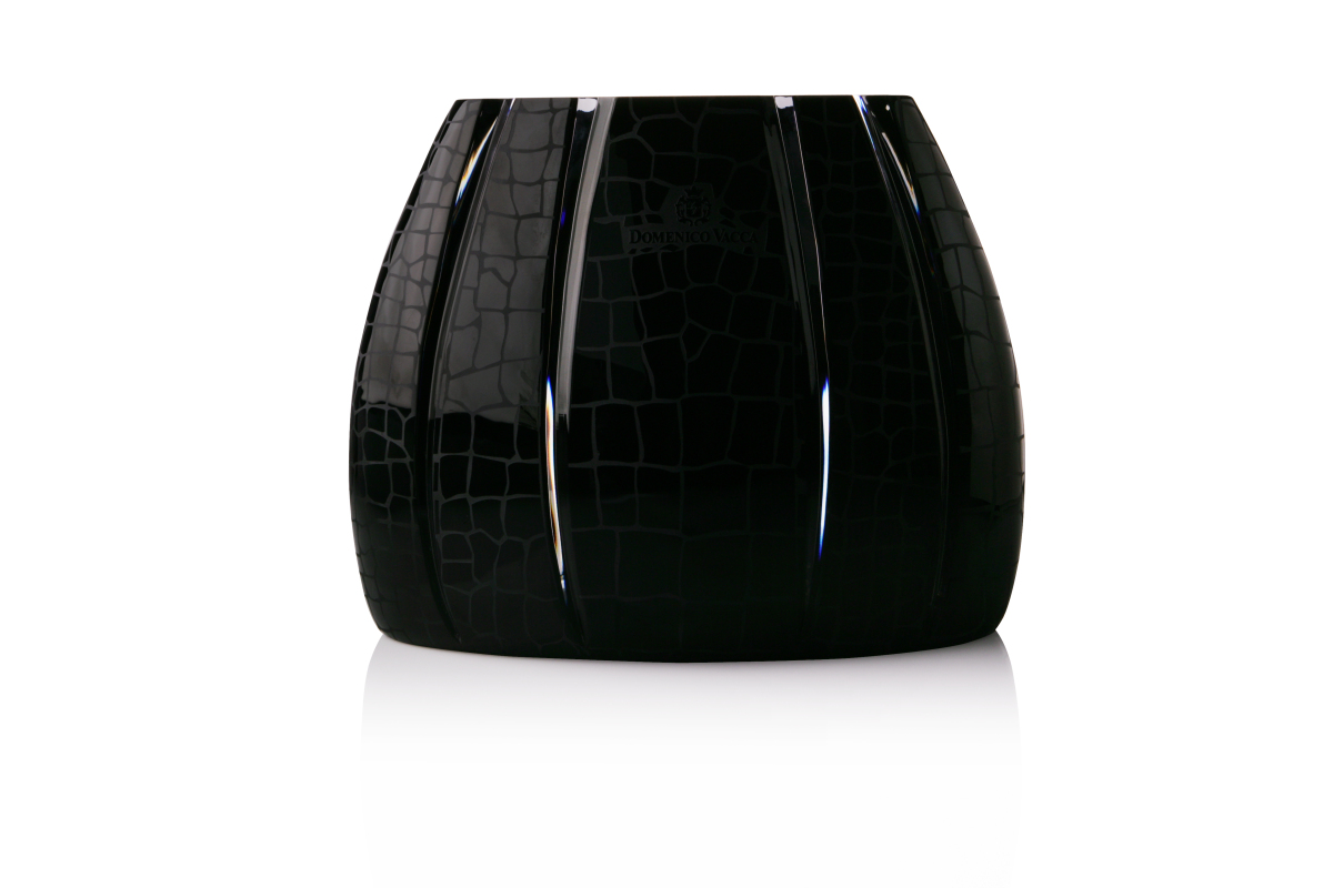 The Julie crystal bowl, in limited-edition black.