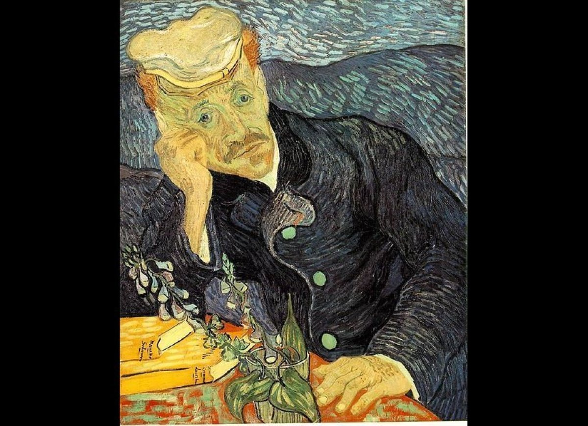 "Vincent Van Gogh's ""Portrait Du Docteur Gachet"" sold at Christie's for<a href=""http://www.usnews.com/usnews/doubleissue/myste"