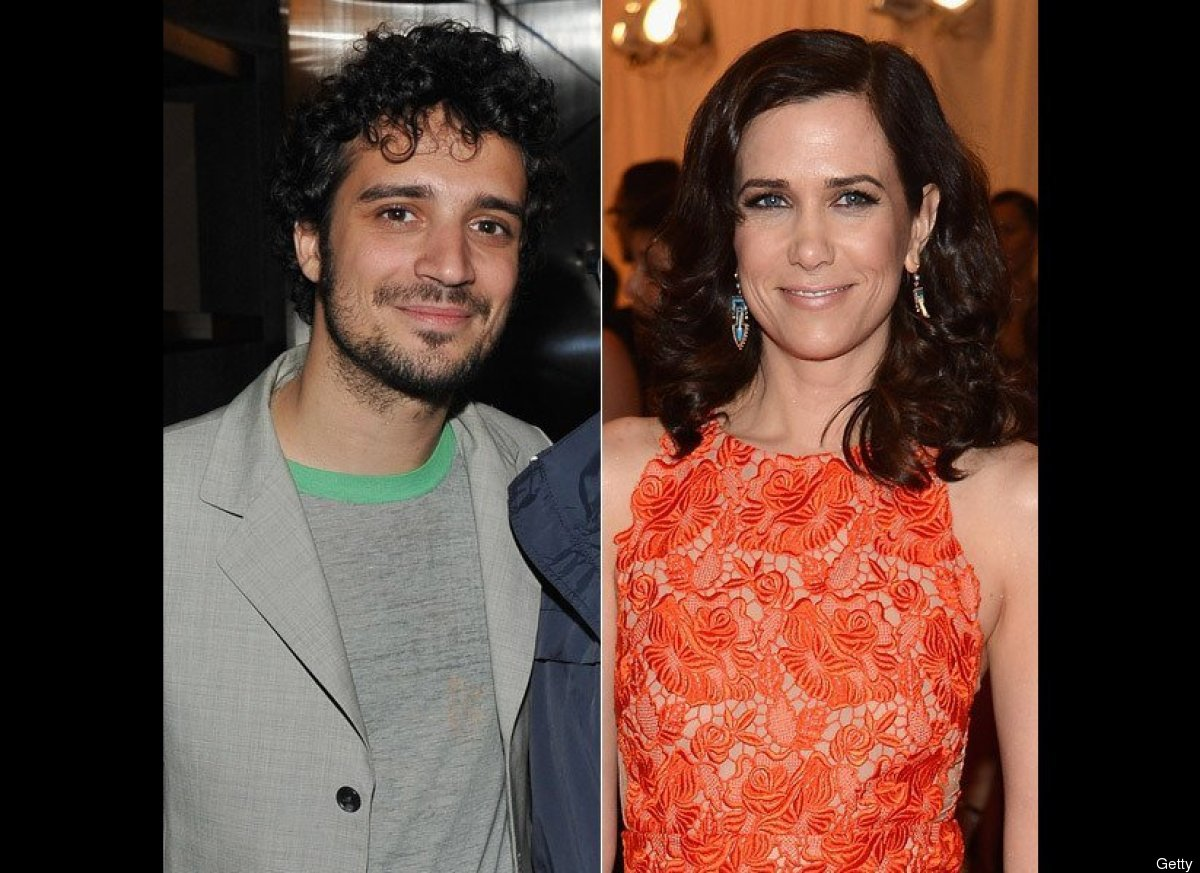 """They've been dating since late 2011, but The Strokes drummer Fabrizio Moretti and former """"SNL"""" star Kristen Wiig haven't been"""