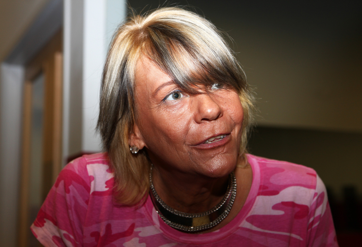 Patricia Krentcil -- also known as Tanning Mom -- was in Westchester, NY on Friday, Sept. 21 to show off her better-looking s