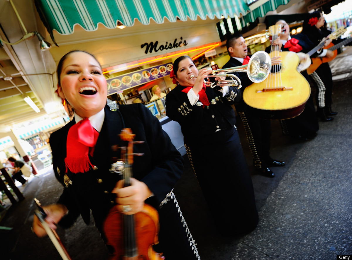 """Univision Radio L.A. is celebrating Cinco de Mayo with live mariachi music and dance at Los Angeles' own <a href=""""http://www."""