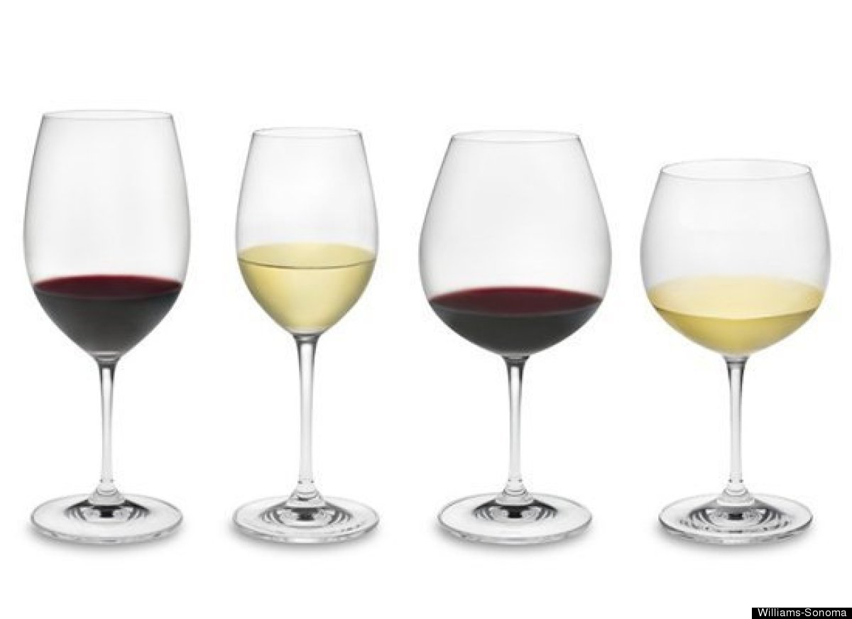 The unique shape of wine glasses are for a reason -- it's there to help you notice aroma and flavor. The tulip shape of a win