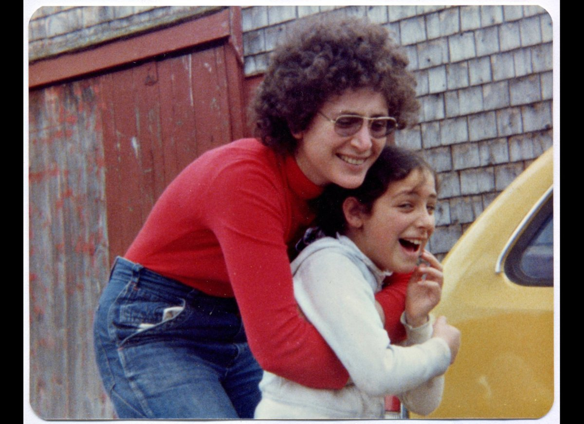 My mother and I in 1978, at our rented farmhouse in Maine. This is how I thought of her before she got sick: powerful, protec