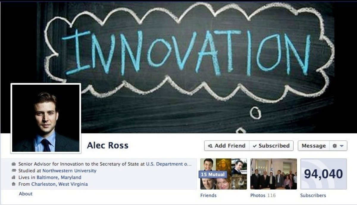 Senior Advisor for Innovation to the Secretary of State