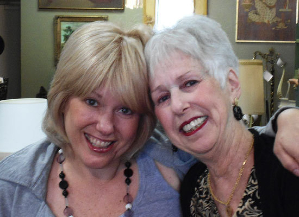 Known as the Thelma and Louise of Furniture, Jeanne (left) and Faye (right) find pieces that need a little love and attention