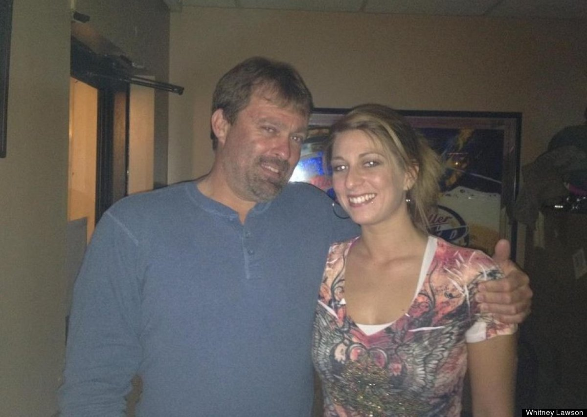 """James """"Alan"""" Lawson and his daughter, Whitney Lawson. The 41-year-old father of two was reported missing on April 29, 2012."""