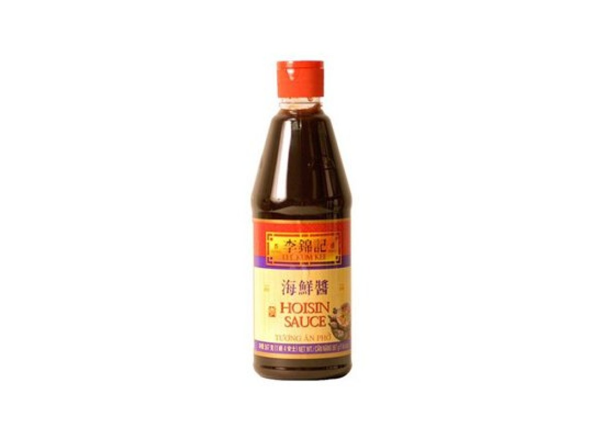Hoisin sauce is a Chinese dipping sauce. It's a thick, brown, spicy-sweet sauce that works great as a salad dressing and as a