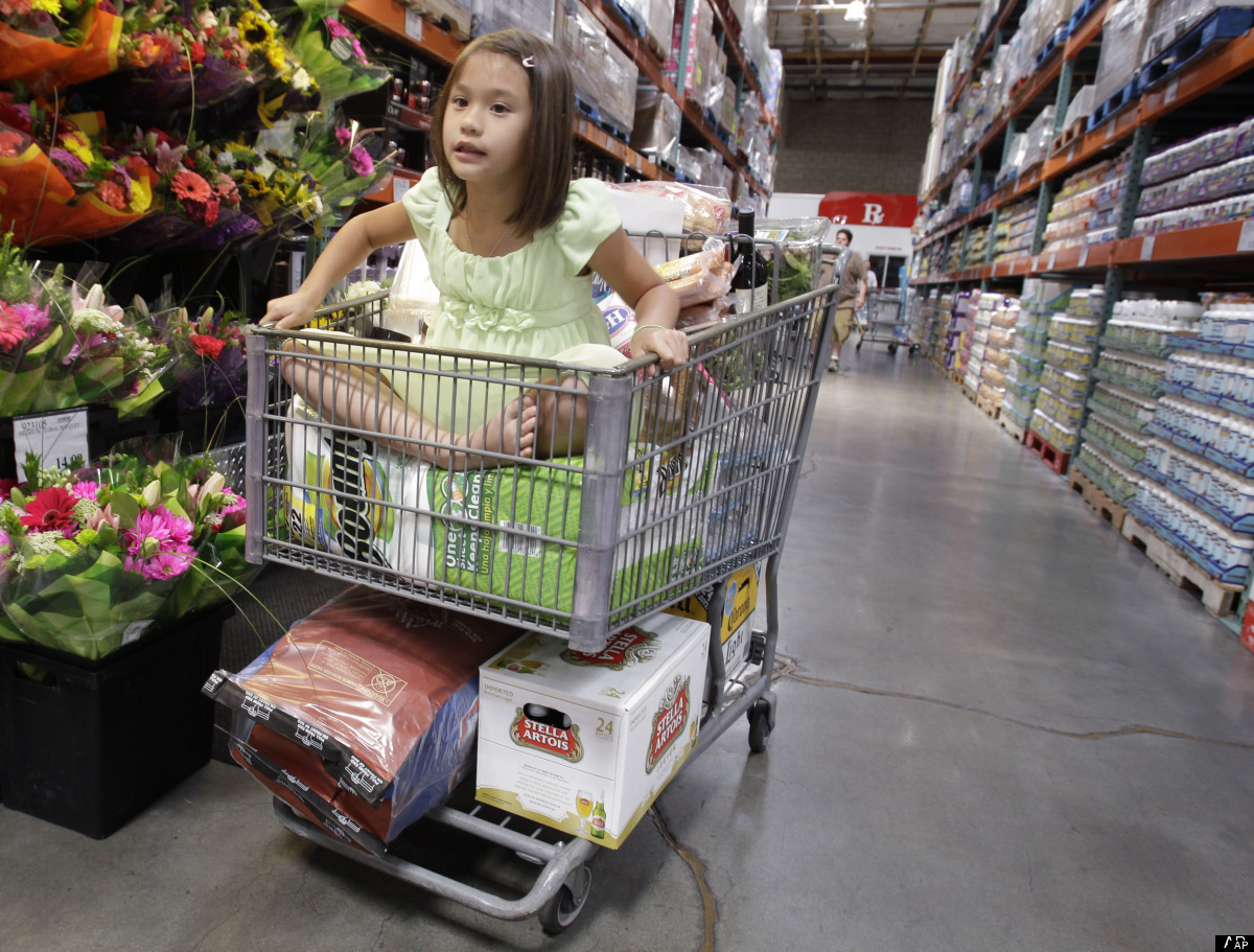 Constantly running out to the grocery store not only burns time, it burns gas. It also wastes money and resources: Shoppers w
