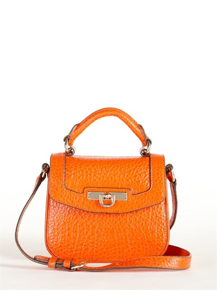 """<a href=""""http://www.dkny.com/bags/shop-by-shape/view-all/r2210109/beekman-french-grain-mini-d-top-handle-crossbody"""" target=""""_"""