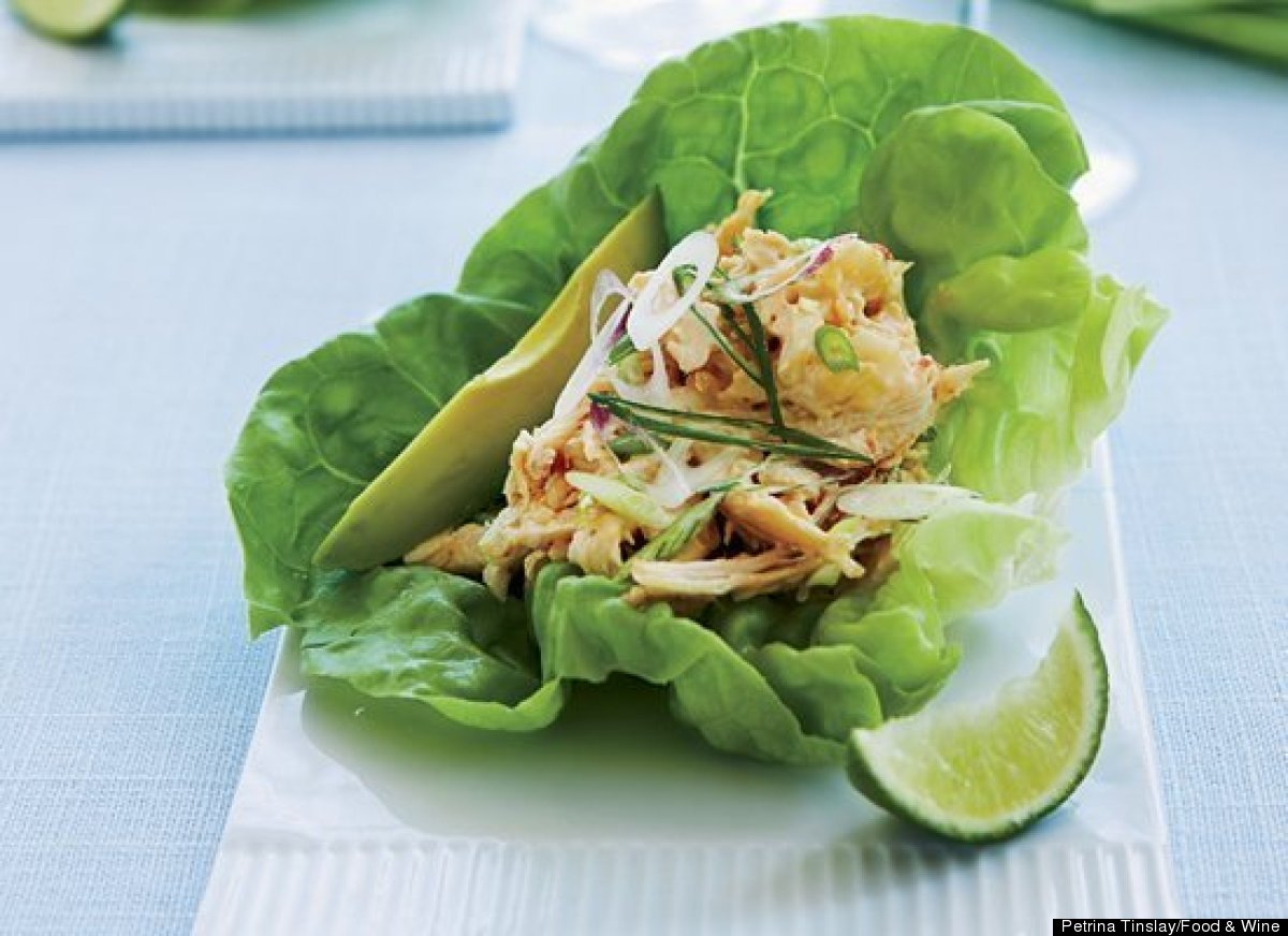 Reinvent chicken salad with this recipe, which features Asian flavors like sambal oelek and sesame oil. The recipe is great f
