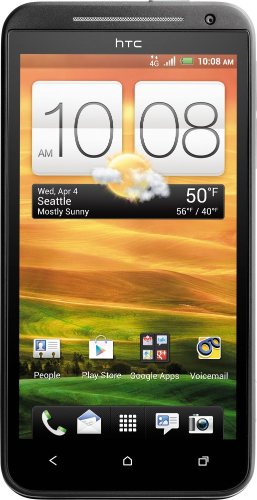 The HTC Sense has been pared down, according to HTC execs. The iconic flip clock remains, however!  Image credit: HTC
