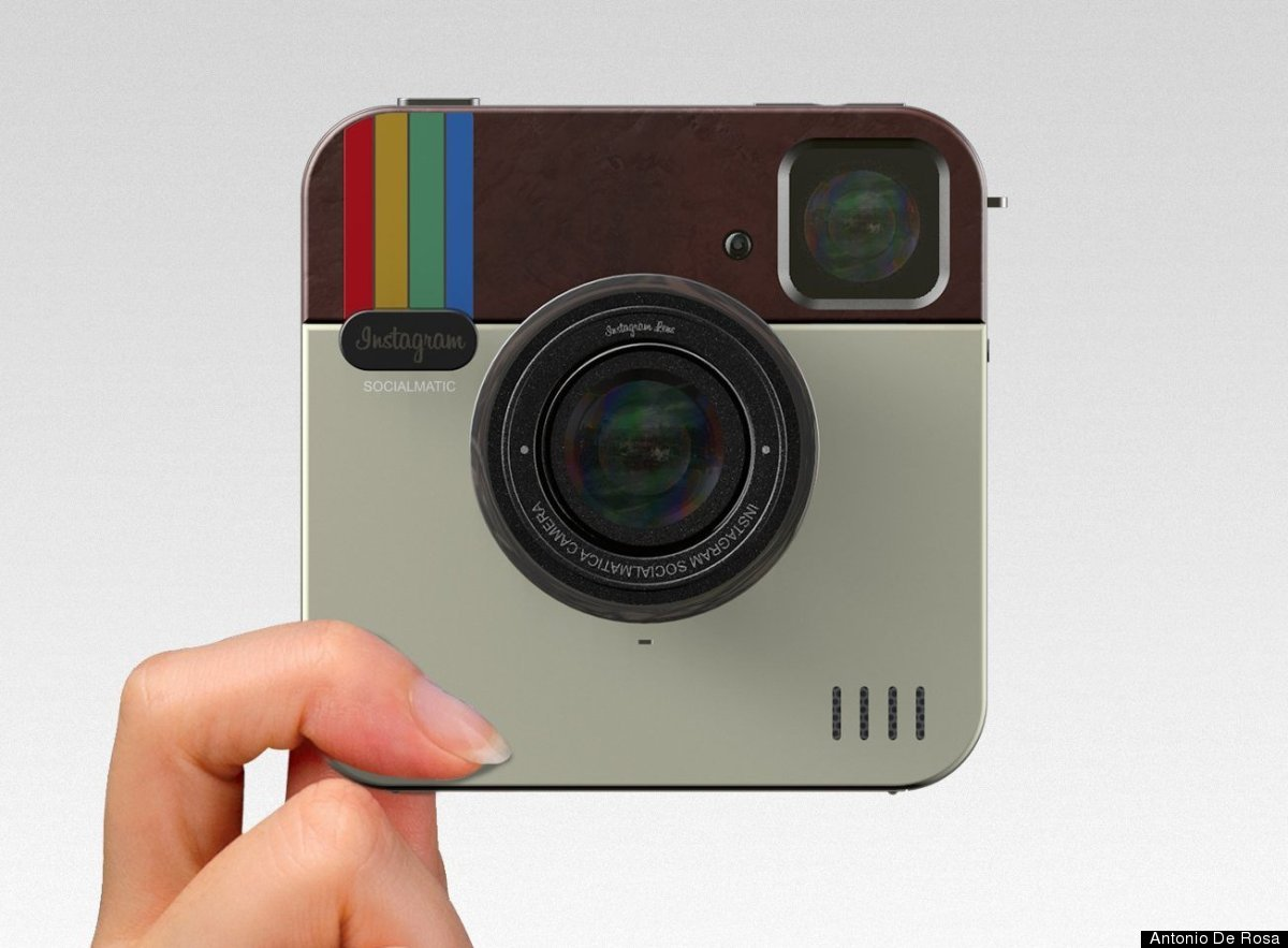 Instagram Socialmatic Camera: Photo-Sharing App Comes To Life With ...