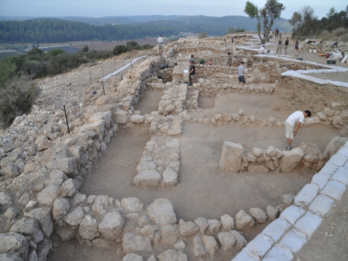 Photo credit: Khirbet Qeiyafa Archaeological Project