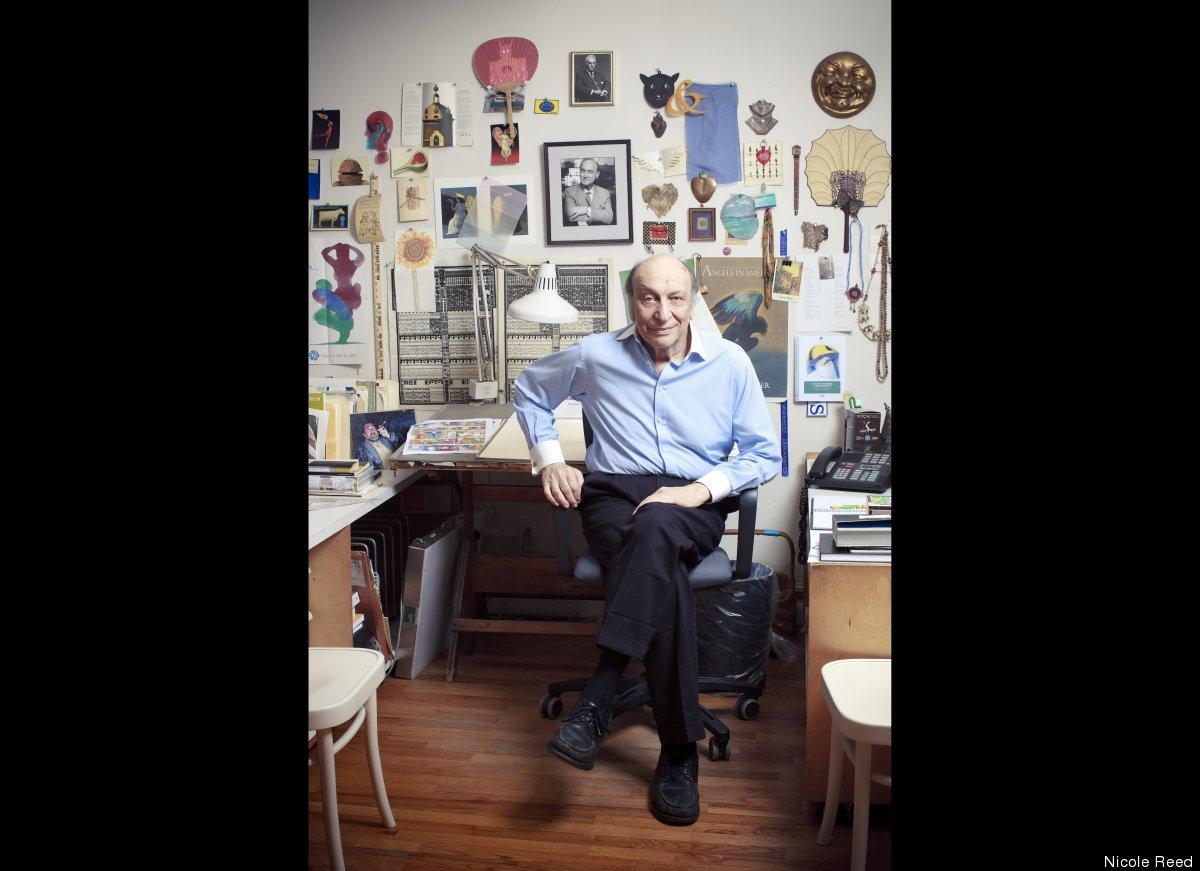 Milton Glaser, photo courtesy of Nicole Reed.