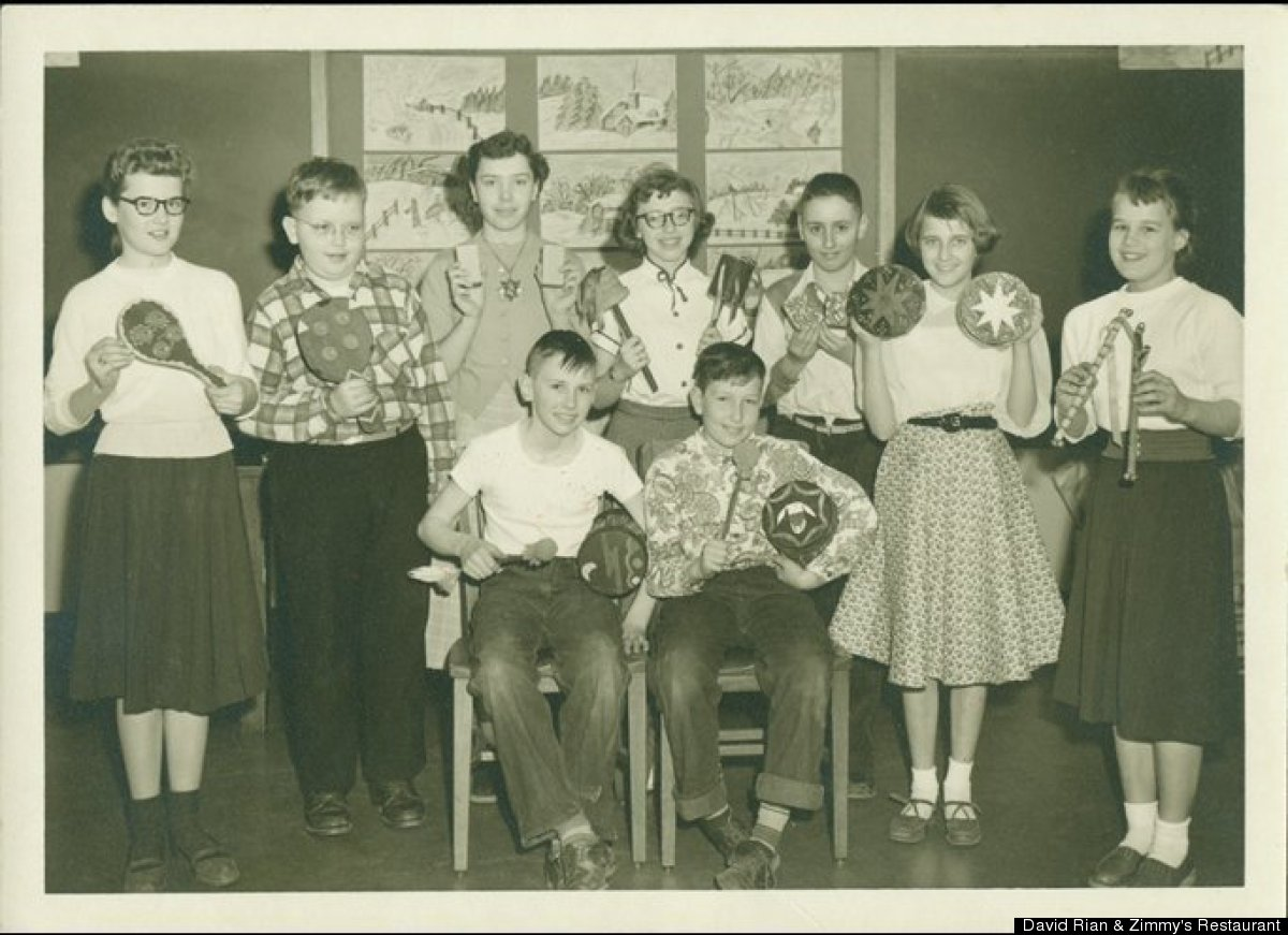 Bobby is on percussion in fifth grade music class (he's seated, at right).