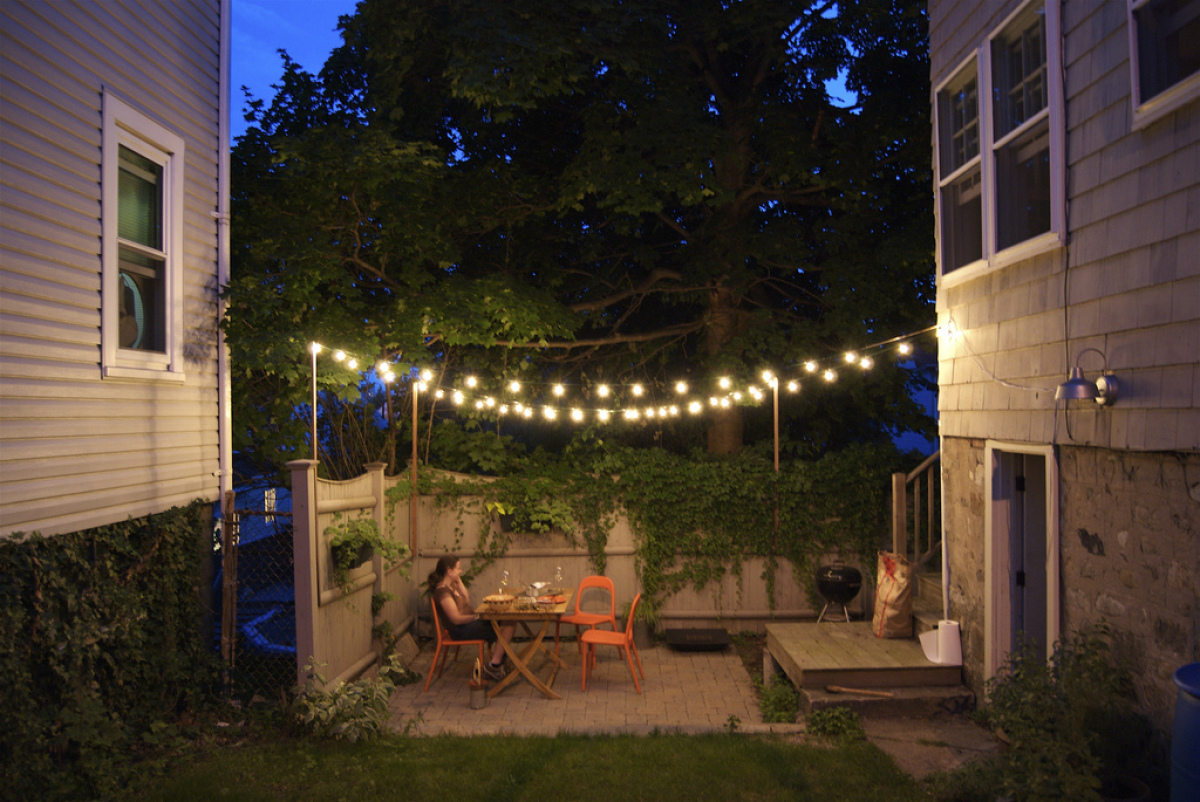 6 brilliant and inexpensive patio ideas for small yards huffpost - Small Backyard Patio Ideas