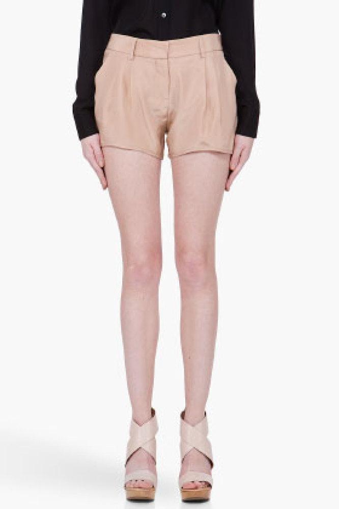 "<a href=""http://www.ssense.com/women/product/haute_hippie/nude_silk_shorts/51373?utm_source=2178999&utm_medium=affiliate&utm_"