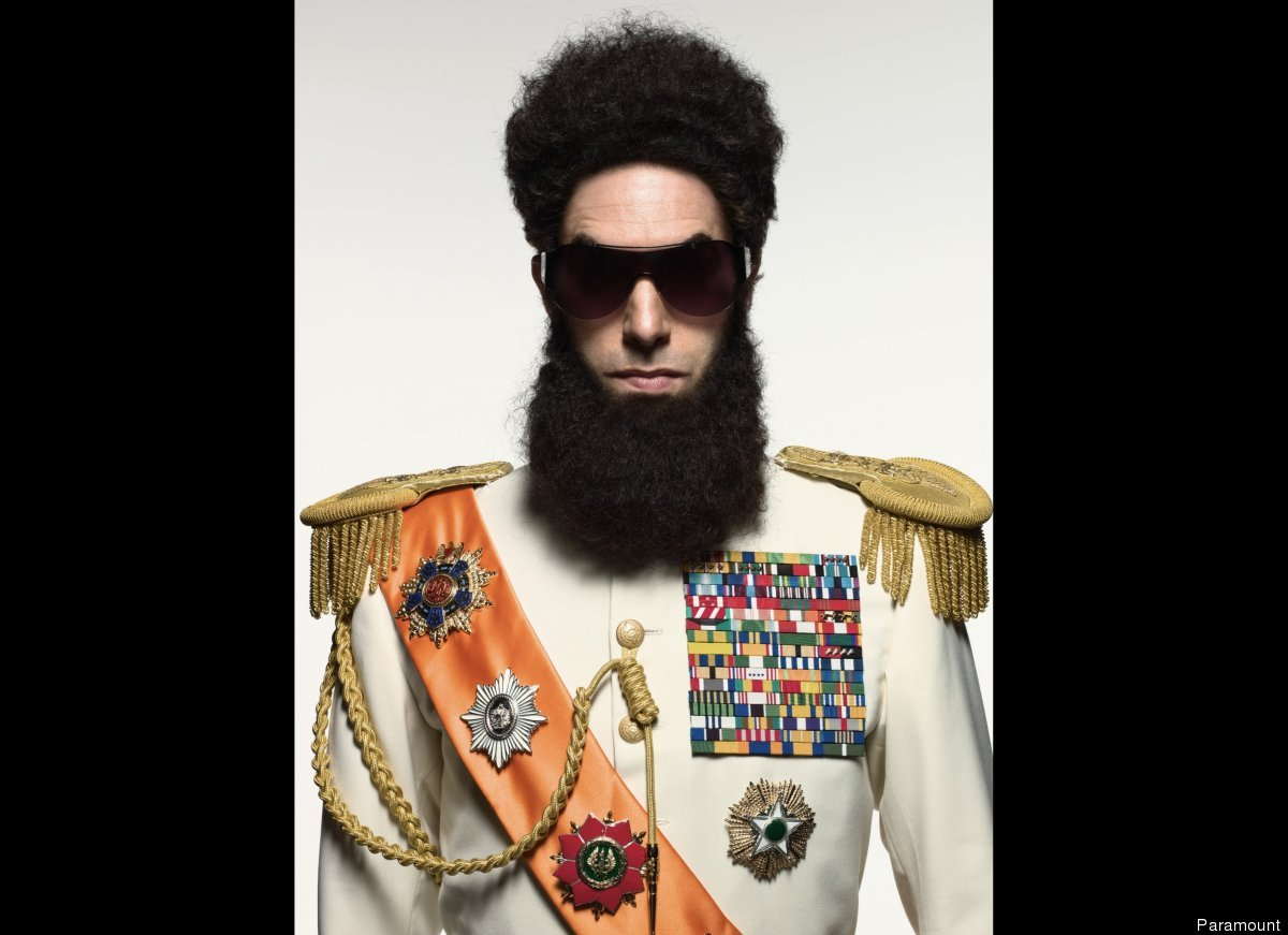 "Sacha Baron Cohen stopped being funny when he started getting scripted. Case in point: ""No joke in 'The Dictator' is funnier"