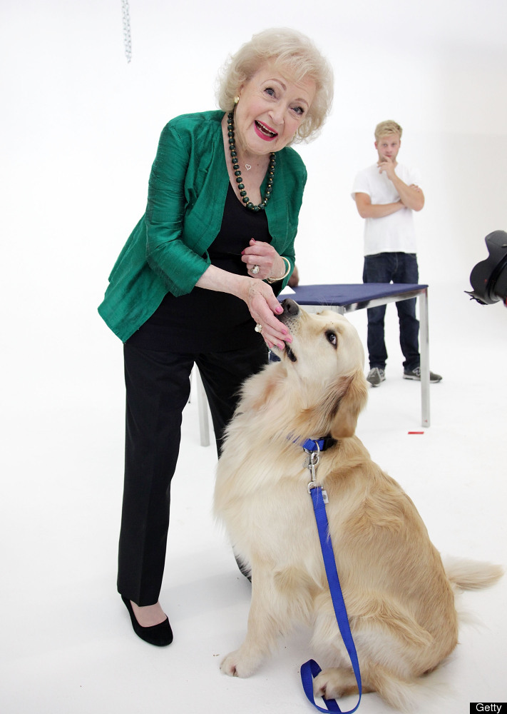Betty White attends Betty White fashion shoot for The Lifeline Program at Smashbox Bigbox on May 9, 2012 in Culver City, Cali