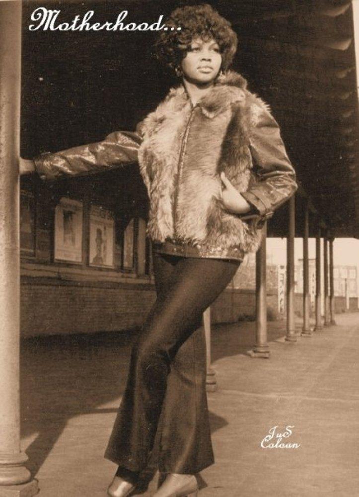 """My mom Anna Williams, circa the '70s."" - Brennan Williams, pop culture editor, HuffPost Black Voices   (HP photo)"