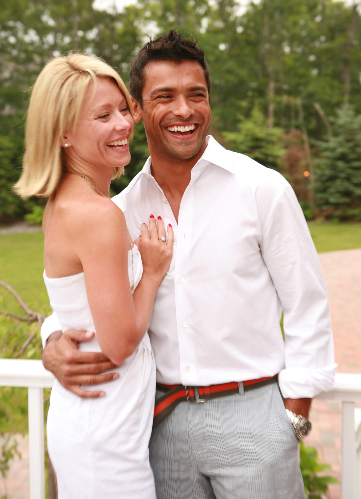 Kelly Ripa and husband Mark Consuelos Credit: Tana Lee Alves, Getty Images