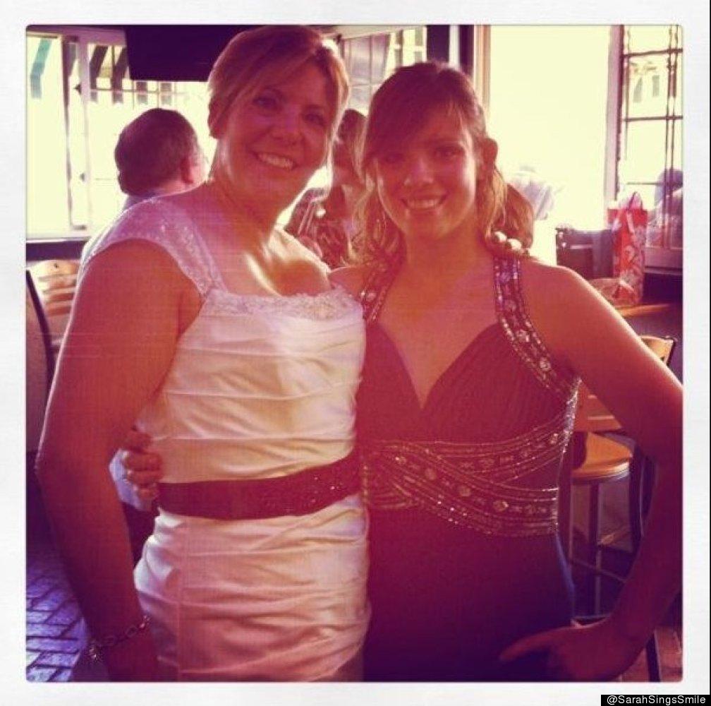 @SarahSingsSmile at my mom's wedding :)