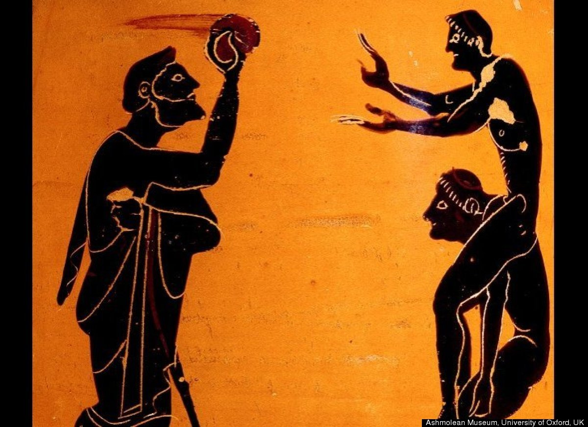 Ephe-what? Although the evidence is murky at best, it's likely that the idea of playing ball first began with our Paleolithic
