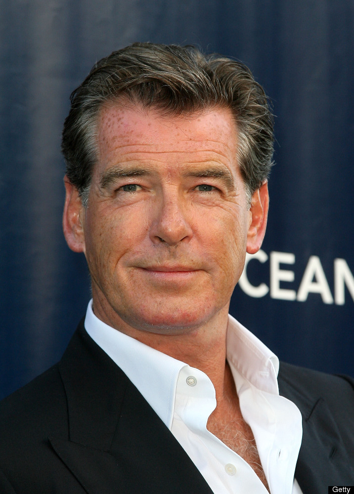 Pierce Brosnan arrives at the Annual SeaChange Summer Party To Benefit Oceana in 2010.