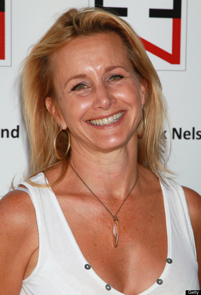 """Gabrielle Carteris, born in 1961, was 29 when she began playing brainy 16-year-old Andrea Zuckerman on """"Beverly Hills, 90210"""""""