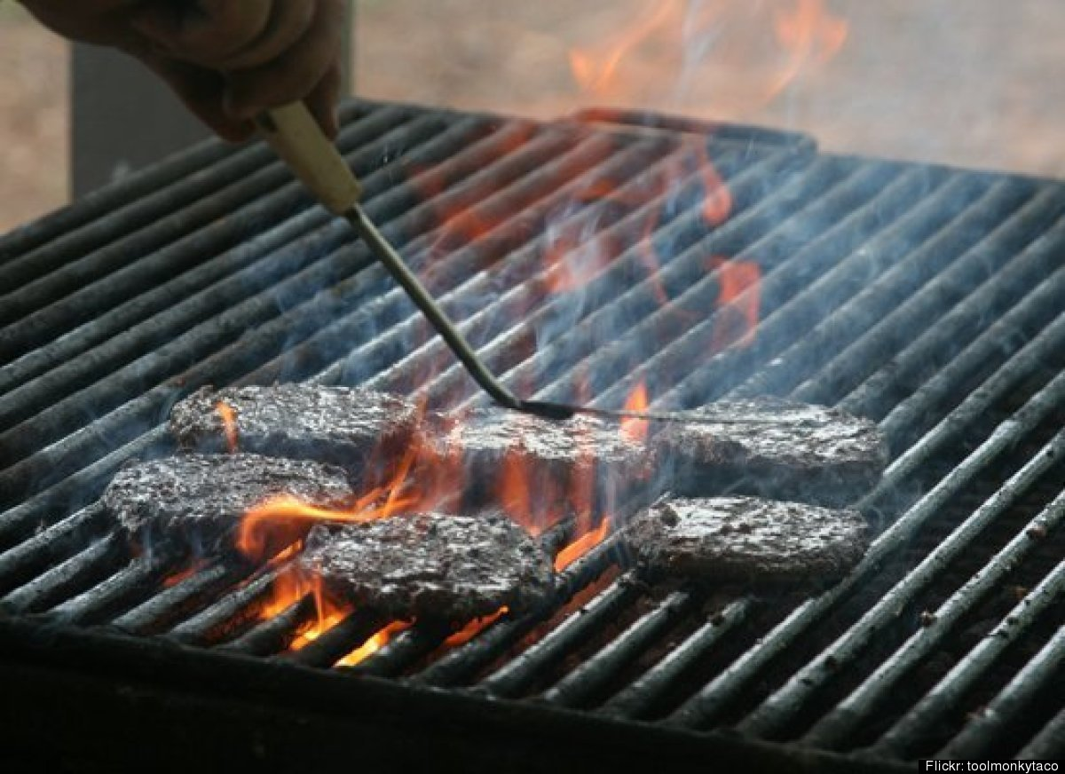 """Consider this the cardinal rule of cooking burgers. """"It squeezes out the juices, and the juices are the flavor,"""" says Jeff We"""