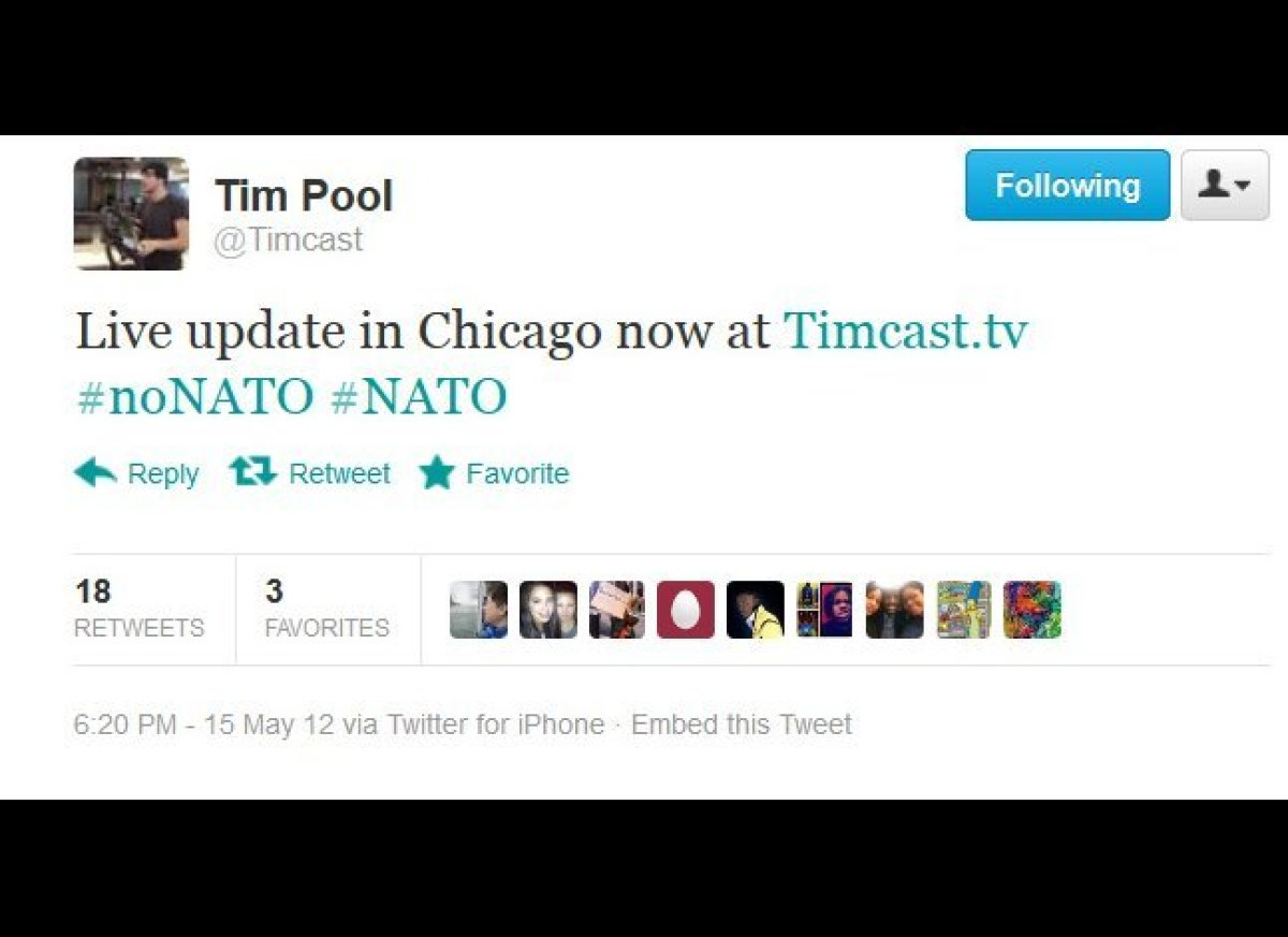 """Independent journalist Tim Pool, best known for his coverage of activist rallys and Occupy events. The recent """"Shoot to Kill"""""""