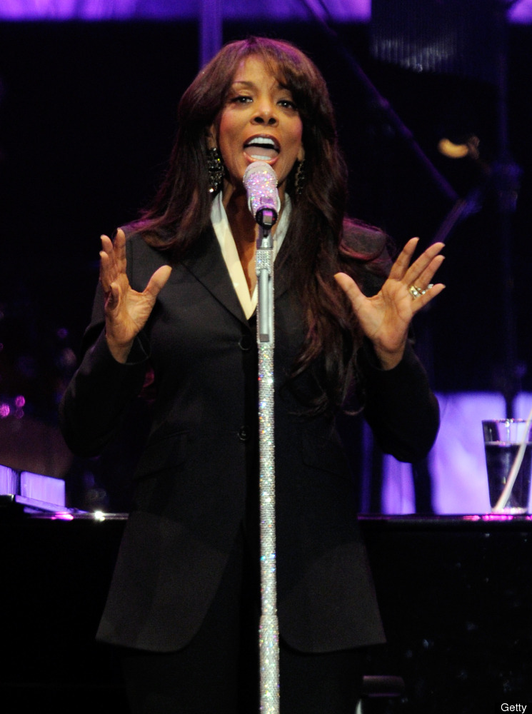 Singer Donna Summer performs during the David Foster and Friends concert at the Mandalay Bay Events Center October 1, 2011 in