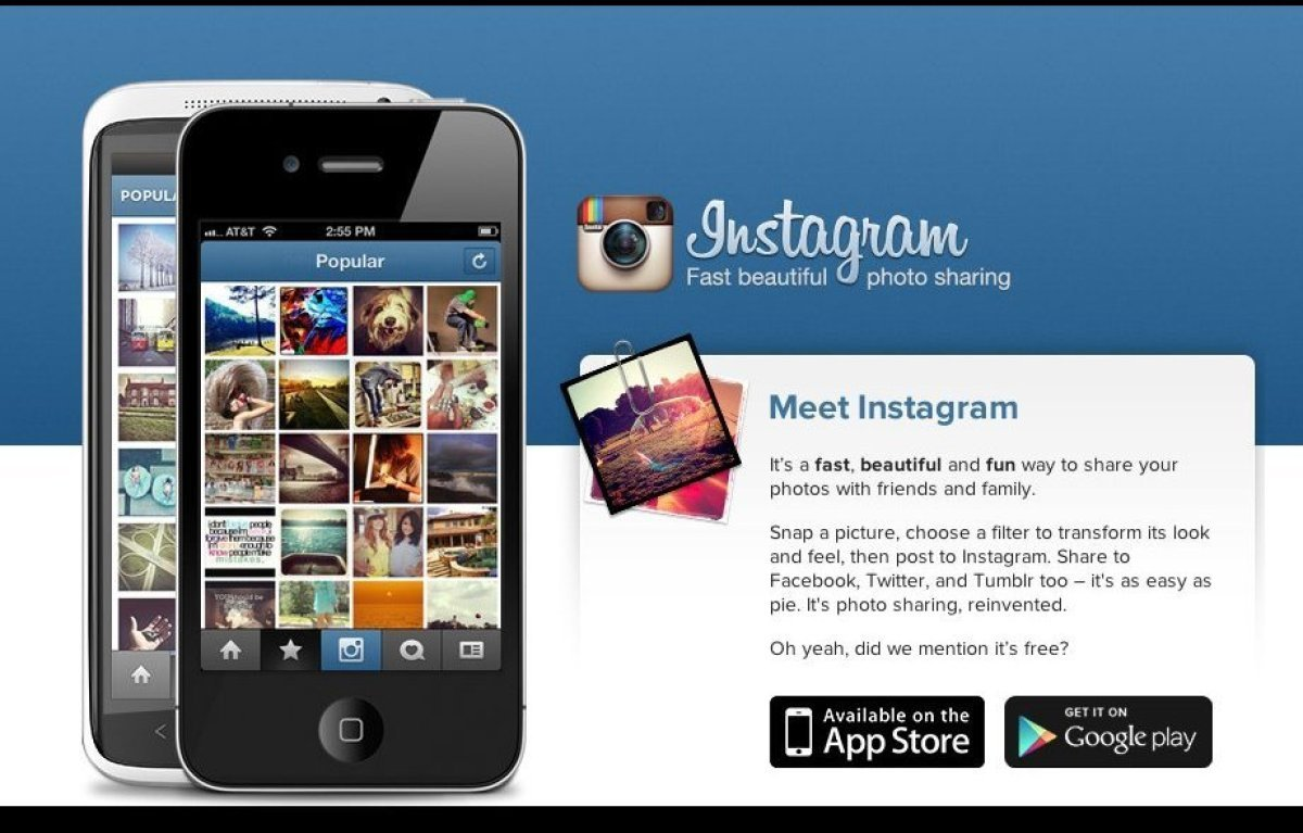 "On <a href=""http://instagr.am/"" target=""_hplink"">Instagram</a> (iPhone and Android, free), users take photos from their daily"