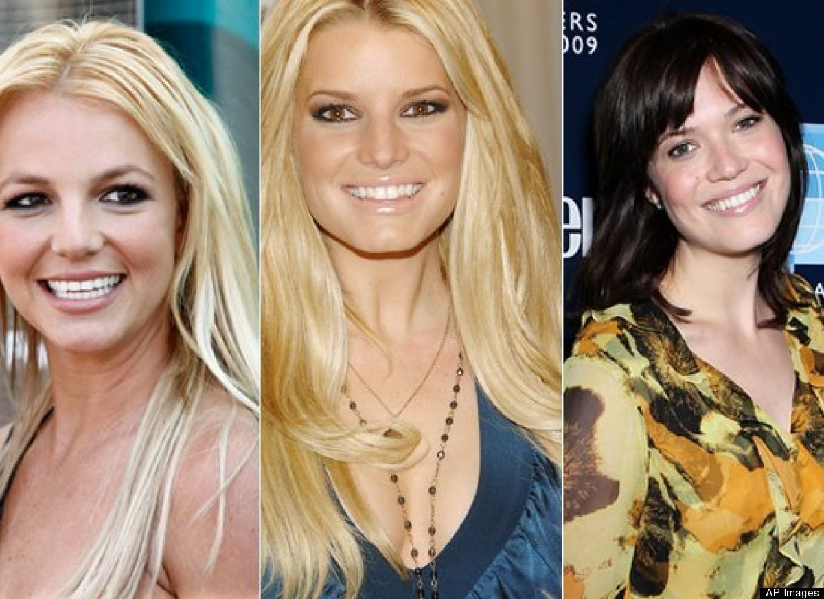 A) Britney Spears B) Jessica Simpson C) Mandy Moore