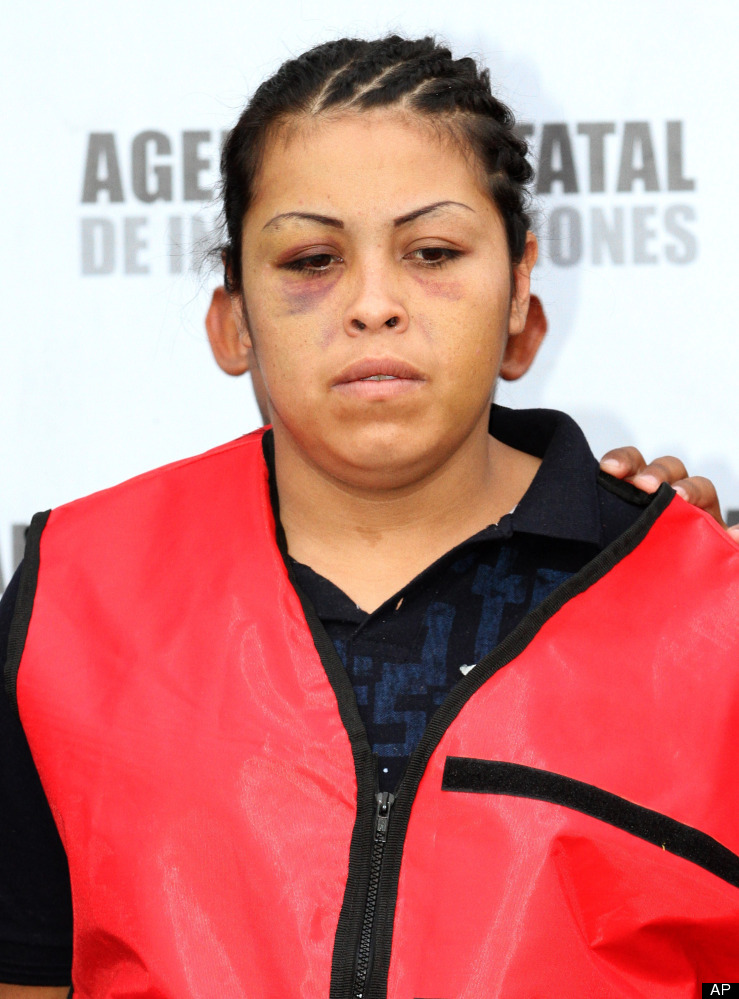 María Guadalupe Jiménez López, La Tosca, de 26 años, encabezaba una banda de homicidas, secuestradores y narcodistribuidores