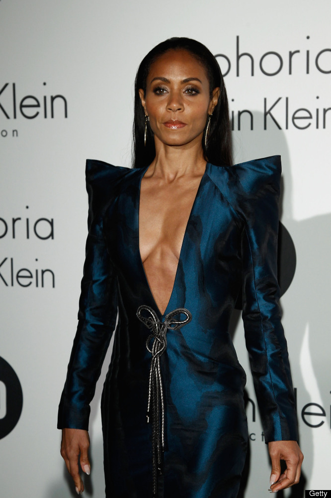 CANNES, FRANCE - MAY 17:  Actress Jada Pinkett Smith attends Women In Film celebration with IFP, Calvin Klein Collection & eu