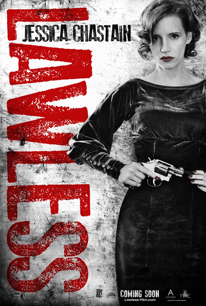 'Lawless' Posters