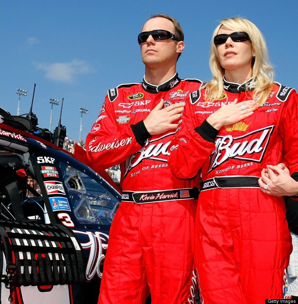 """Kevin Harvick's wife, DeLana, is probably best known for <a href=""""http://sports.espn.go.com/rpm/nascar/cup/columns/story?colu"""