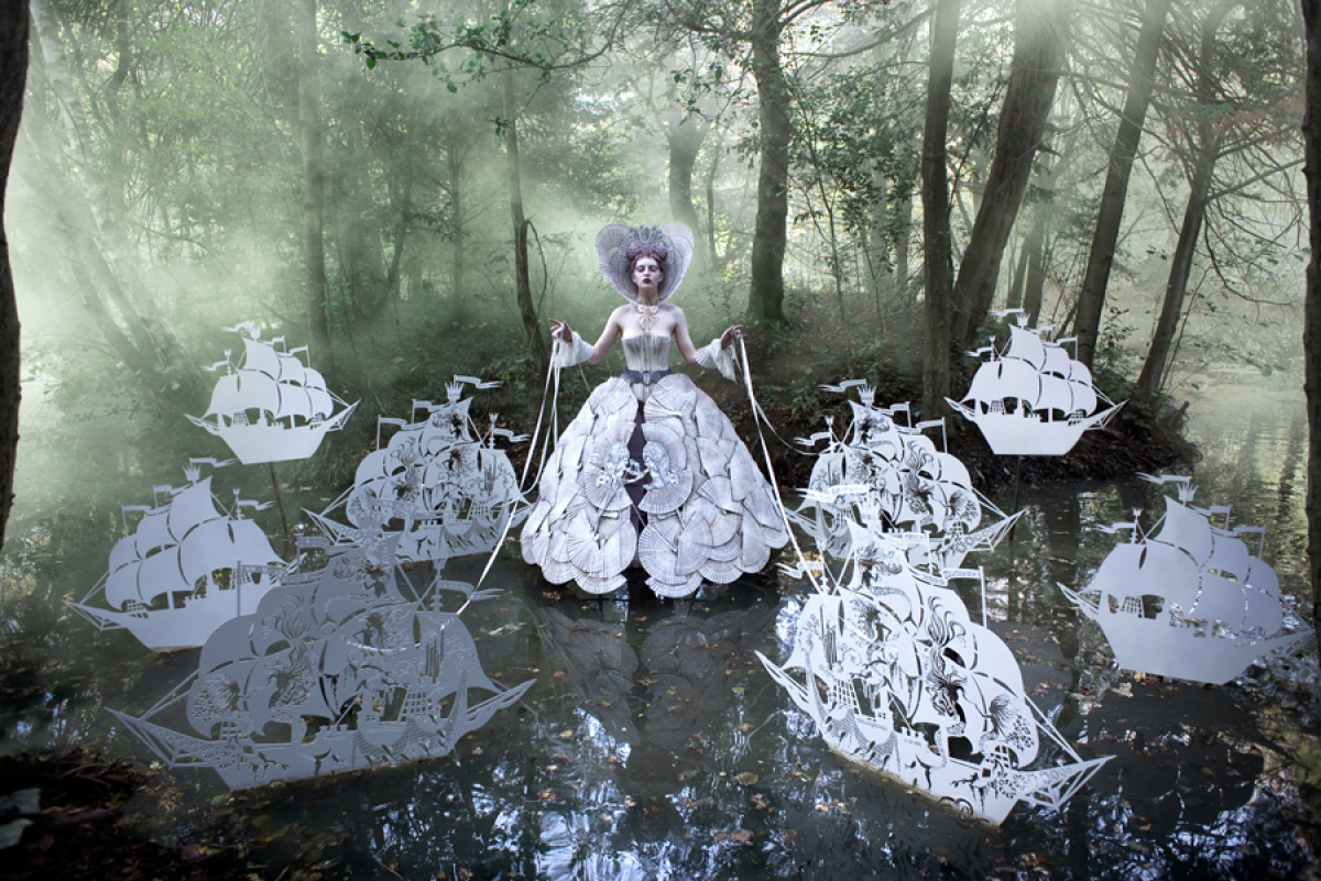 "Kirsty Mitchell ""The Queen's Armada"""