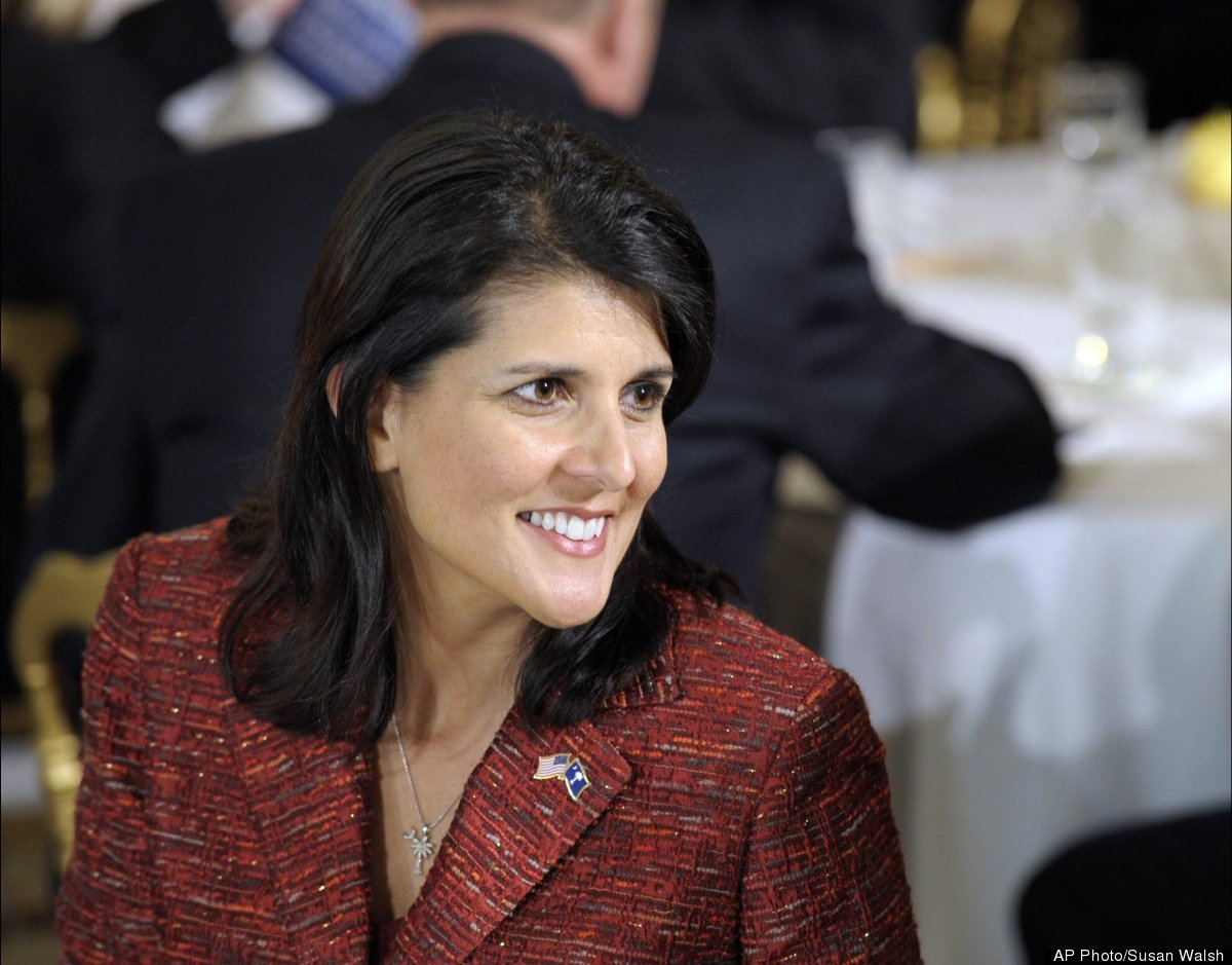 """In May 2010, Republican gubernatorial candidate Nikki Haley was forced to <a href=""""http://www.huffingtonpost.com/2010/05/24/n"""