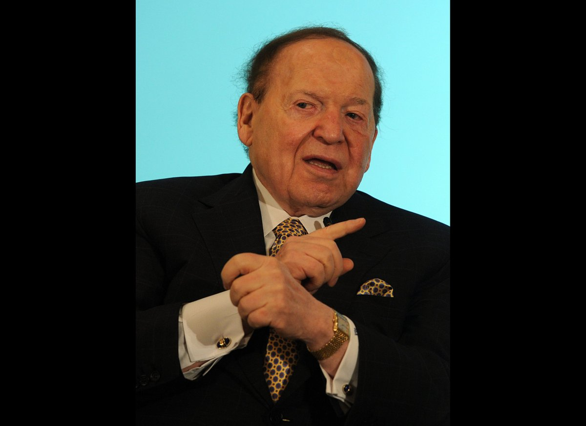 Sheldon Adelson, the Las Vegas casino magnate, and his family have combined to give $26.5 million to super PACs in the 2012 c