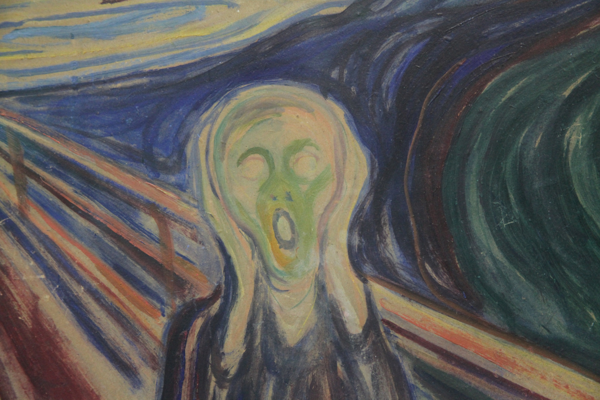 The Scream, (Original Painting, 1893, oil on cardboard) Locked Collection, Munch Museum, Oslo, Norway