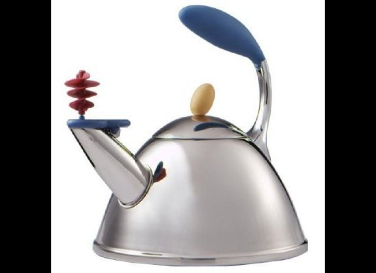 Target sold its Graves-designed tea kettles for less than $30, offering its customers high-end cachet at distinctly low-end p