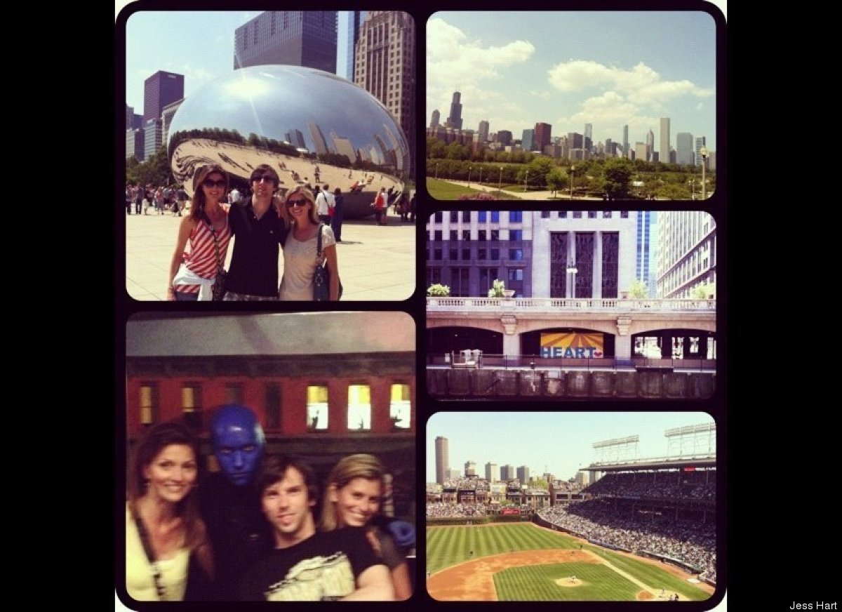 Chicago with my brother and sister!