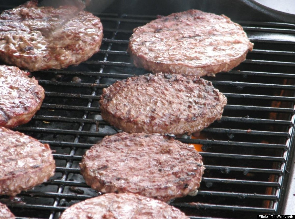We love burgers. But they can be calorie and saturated fat bombs -- so choose carefully. A plain burger on a bun is about 270
