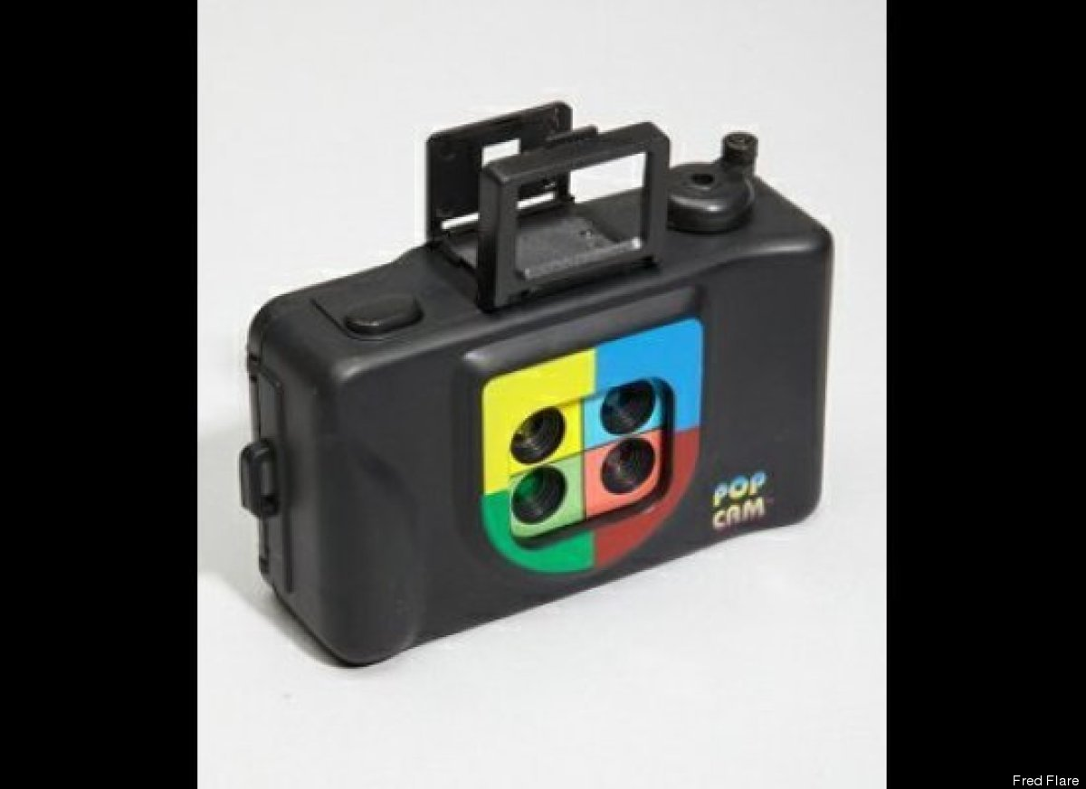 Let the artsy grad in your life channel their inner Andy Warhol with this pop art camera. Each snapshot is transformed into f