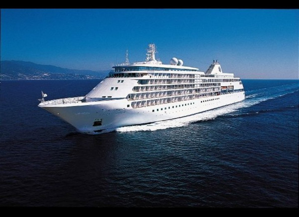 The Silver Shadow is one of the Silversea's larger ships, and ranks third in its fleet. The all-suite ship holds space for 38